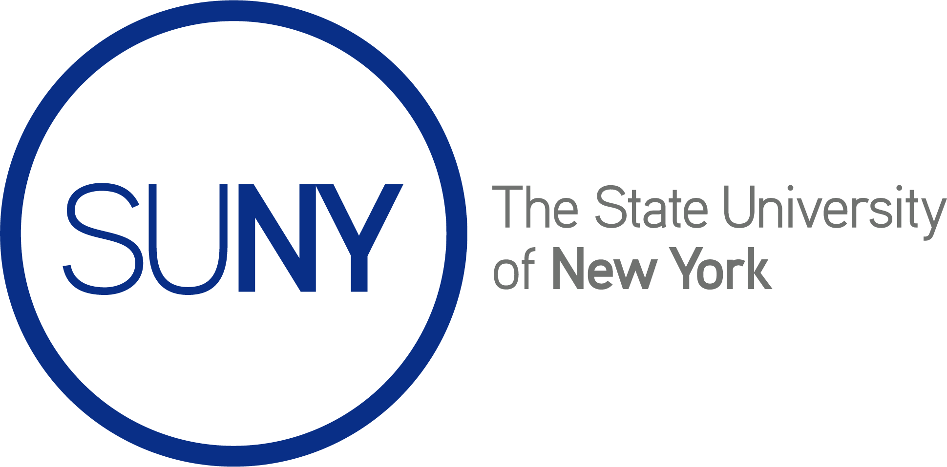 SUNY The State University of New York Brand Mark